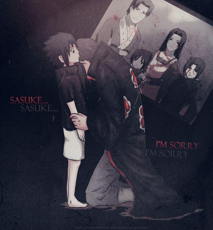 Sasuke and Itachi by diana-usumaki on deviantART