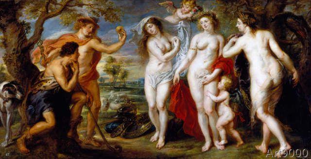Peter Paul Rubens - Das Urteil des Paris