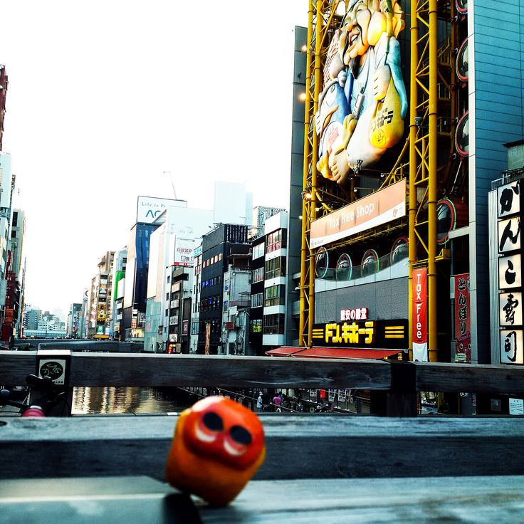 On Dotonbori!! #mizumushikun #Osaka #Japan #Dotonbori