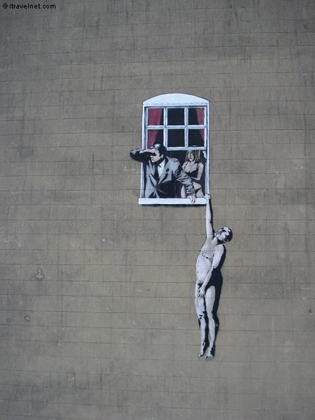 Coolest Banksy Graffiti