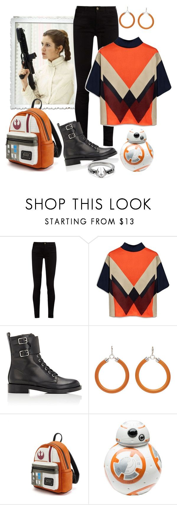 """""""The Princess in Orange"""" by ahapplet ❤ liked on Polyvore featuring Gucci, Mulberry, Gianvito Rossi, Isabel Marant, Loungefly, Zak! Designs, fictional and ahapplet"""