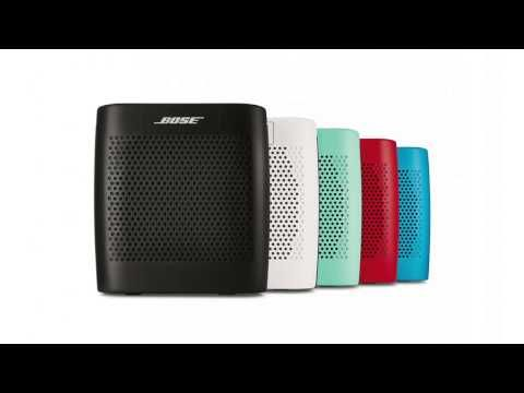 Video Review of the new Bose Soundlink Colour Bluetooth speaker...