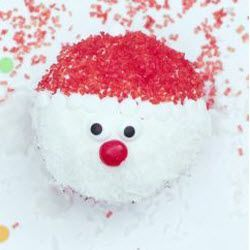 Foto della ricetta: Cupcake di Babbo Natale