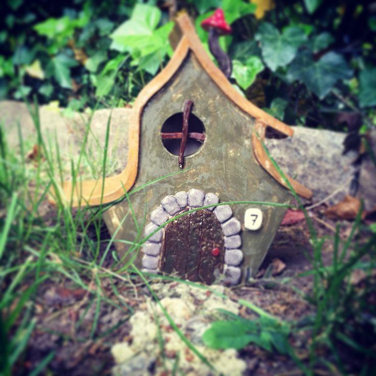 Kabouter huis van keramiek!