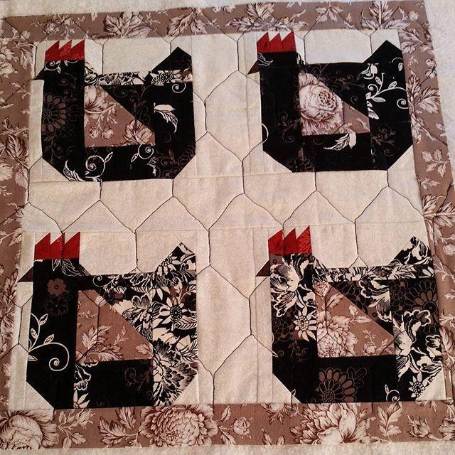 Best 25+ Chicken quilt ideas on Pinterest | Applique quilts ... : chicken quilt block - Adamdwight.com
