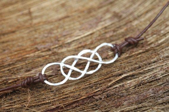 Double infinito bracelet.