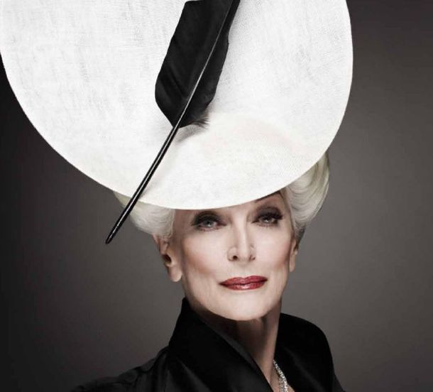 Carmen Dell' Orefice (80 years): The only woman deserving the title supermodel. Forget the rest.