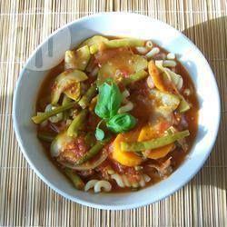 Jamie's Minestrone soep @ allrecipes.nl