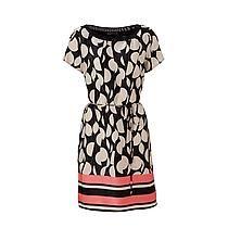 Expresso jurk Zwart/zand