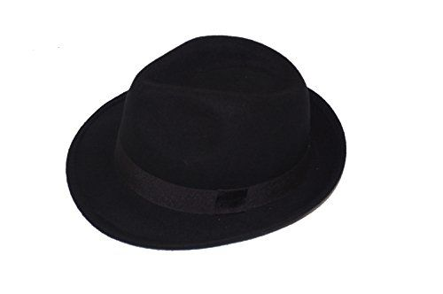 GIZZY® Unisex Black 100% Wool Felt Trilby Hat with Grosgrain Band. (58cm) GIZZY® http://www.amazon.co.uk/dp/B00RXC8STI/ref=cm_sw_r_pi_dp_Tmi3wb11QP7VF