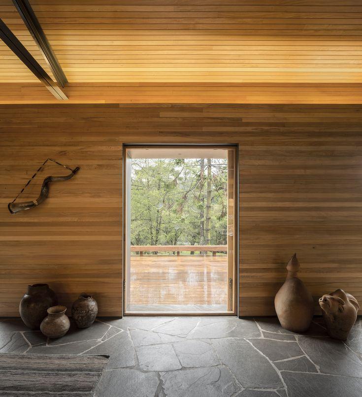 modern mountain destination with natural materials minimal decornatural designhouse. Interior Design Ideas. Home Design Ideas
