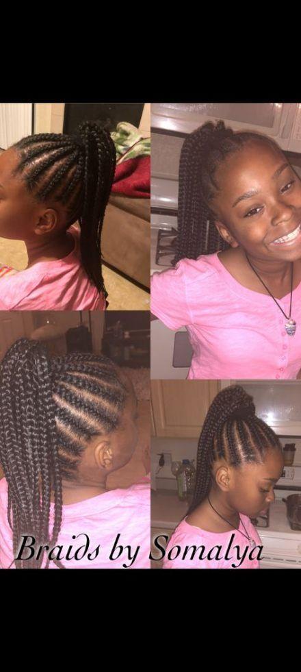 39 Neue Ideen für Zöpfe African American Cornrows Little Girl Frisuren