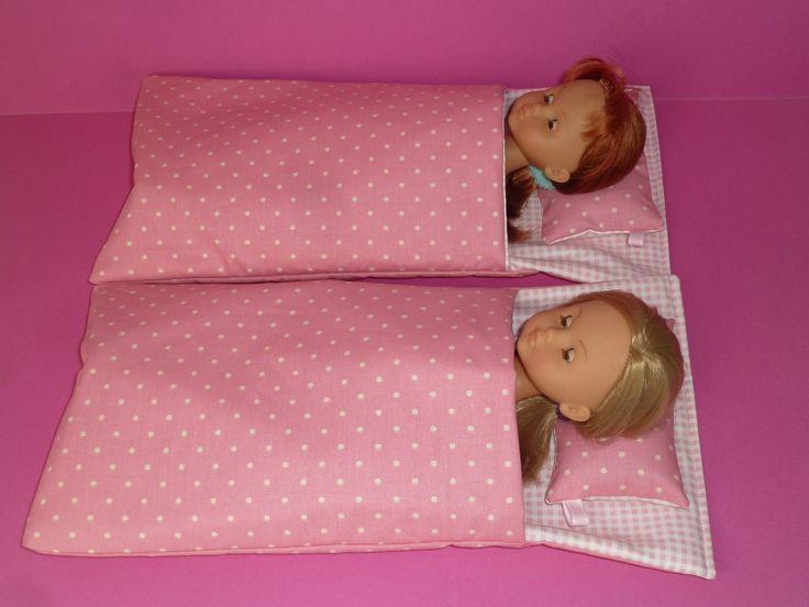 """Lit d'appoint - sac de couchage pour poupée de type """"Chérie"""" de chez Corolle : Jeux, jouets par chadanel"""