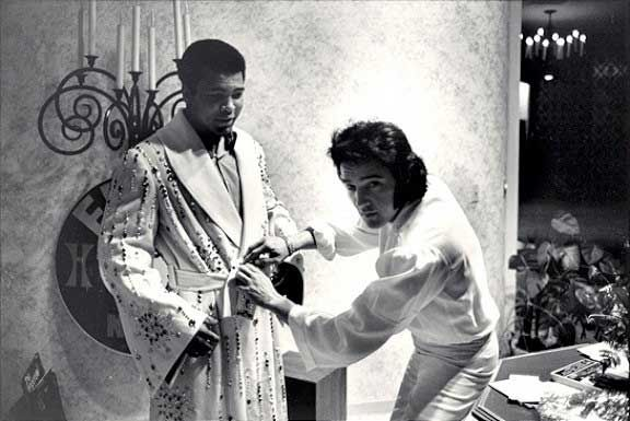 Muhammad Ali and Elvis Presley   Rare and beautiful celebrity photos