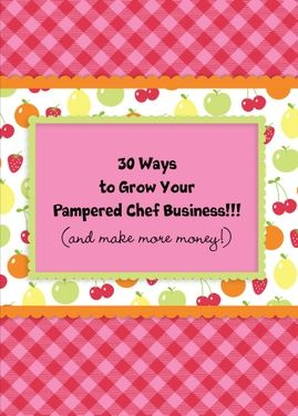 How to grow your new pampered chef business. Click on the card - customize it. Send it to your new reps 30 tips.. Then click send for under $2.00 we will print it..stuff it..stamp it.. and Send it! With a click of your mouse to their house. This is a real card (not an e-card) shared from Sendcere.