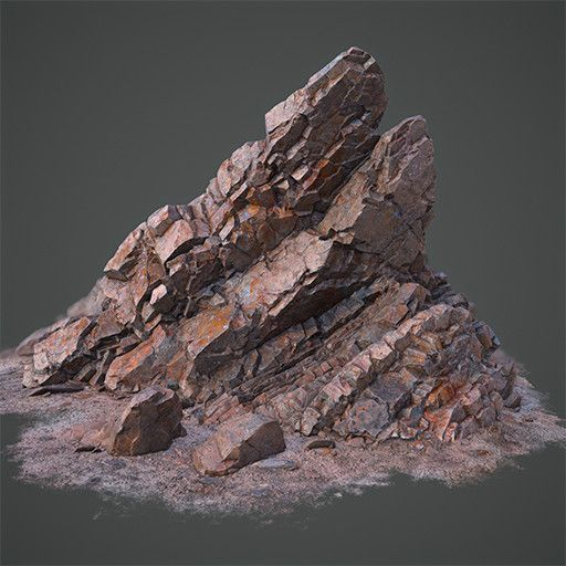 Rock Formation, Daniel Castillo Calvo on ArtStation at…