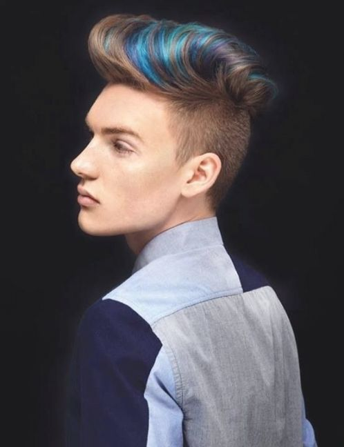 Mens Hairstyles With Highlights