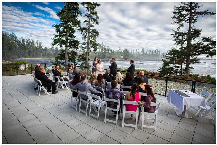 The patio at Black Rock Resort.