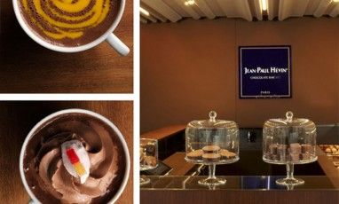Un bar à chocolats chauds affolant