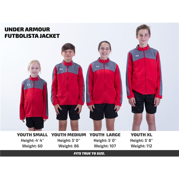 Under Armour Futbolista Jacket
