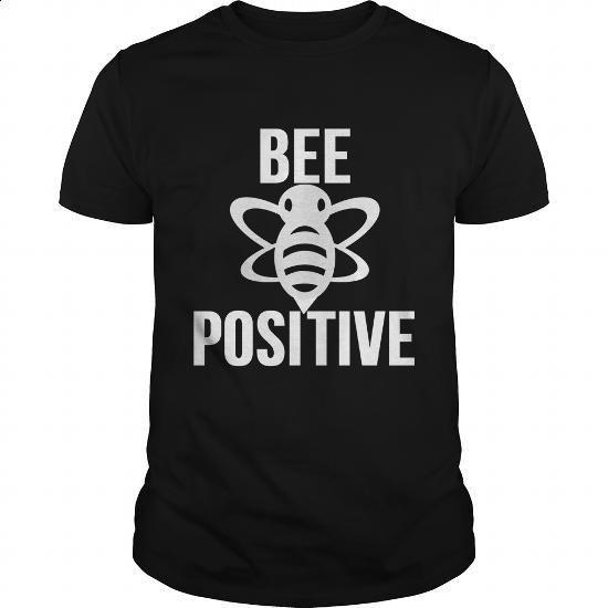 Bee Positive - #tshirt #jean skirt. MORE INFO => https://www.sunfrog.com/Funny/Bee-Positive-Black-Guys.html?60505
