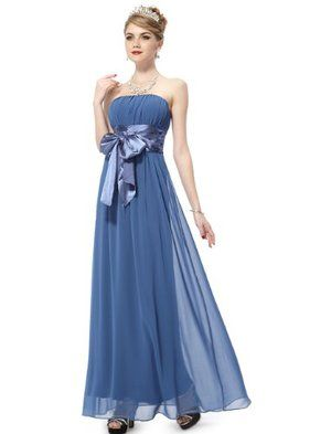 Ever-PrettyHE09060BL10,Blueブルー青ブルーライフ,8US,EverPrettyStraplessBridalDressesForJuniors09060レディース\ドレス\ウェディングドレス