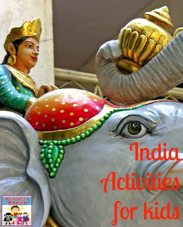 India Activities for Kids - Kid World Citizen