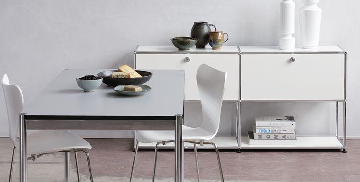 usm haller sideboard fritz hansen stuhl 3565 you. Black Bedroom Furniture Sets. Home Design Ideas
