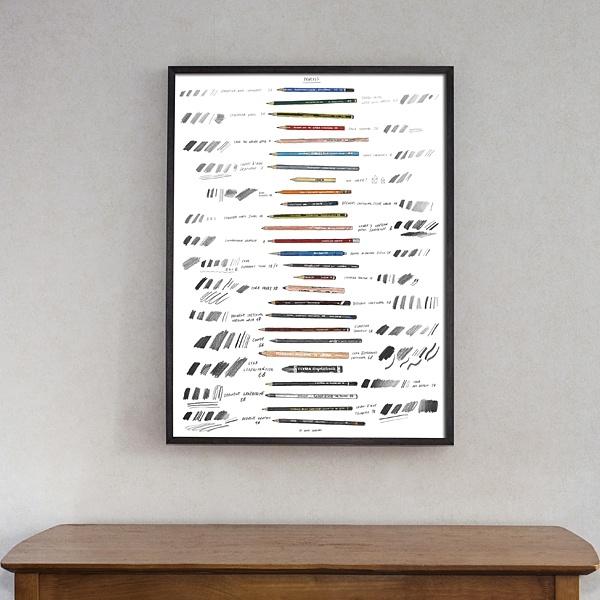 """Poster """"Pencils"""""""