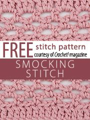 Stitch Patterns knit and crochet now.