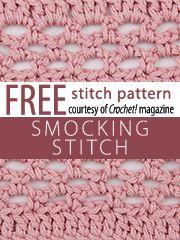 Stitch Patterns knit and crochet now.