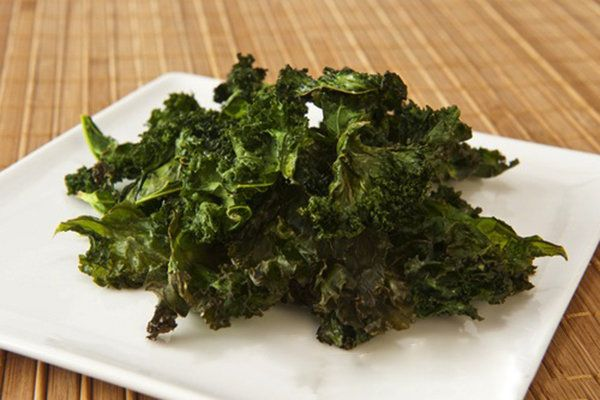 """Kale Chips- 1 bunch kale, rinsed and dryed.  1/4 tsp pepper 1/8 tsp cayenne  1/2 tsp chili powder 1/2 tsp cumin 1/8 tsp garlic powder Kosher salt to taste 2 Tbs olive oil 2 tsp apple cider vinegar Directions Preheat oven to 275  Cut or tear kale leaves and into  2"""" inch pieces. Combine all ingredients add kale and toss to coat. On cookie sheet bake until pieces are crispy, approximately 20 minutes turning once."""