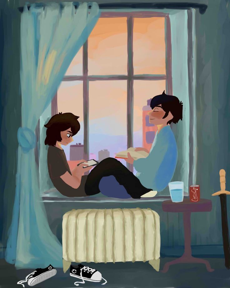 Nico and Percy