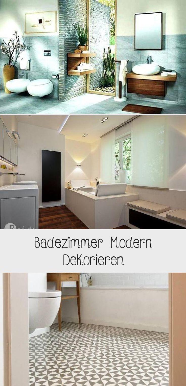 Badezimmer Modern Dekorieren Zimmer Modernes Badezimmer