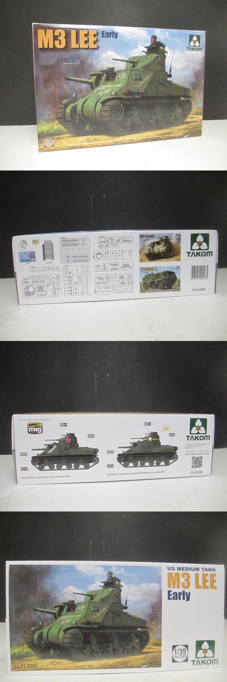 Armor 2588: Takom Models 2085 1 35 Us M3 Lee Early Medium Tank Kit -> BUY IT NOW ONLY: $53.95 on eBay!