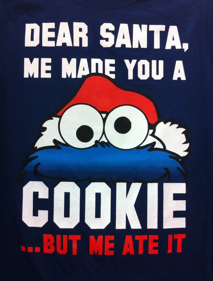 Cookie Monster :) (I have to add just a few more Christmas pictures...they're too cute! //)