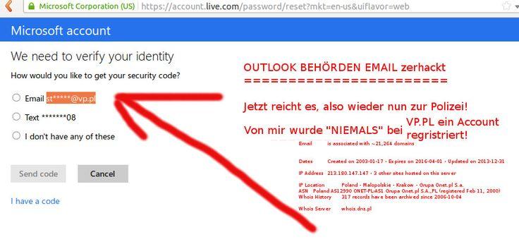 14-12-2014  #EINBRUCH in die PRIVAT ATMOSPHÄRE  Behördliche EMAIL GEHACKT! (wahrscheinlich via Paket Sniffing)