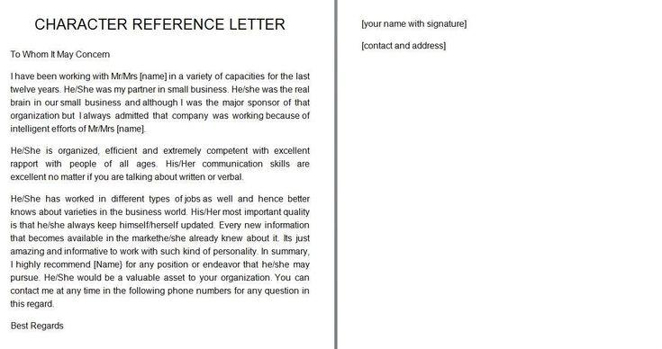 Reference letter 11