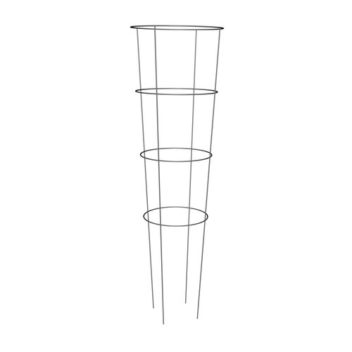 Zoomed 54 In Galvanized Steel Wire Round Tomoato Cage