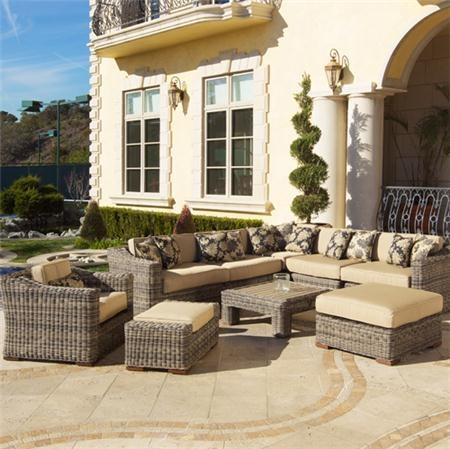 New Back Yard?: Club Sectional, Outdoor Furniture, Resorts, Weathered Grey, Backyard, 9Pc Club, Outdoor Area