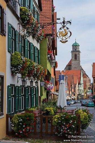 Dinkelsbühl, Germany.  Our tips for 25 things to do in Germany: http://www.europealacarte.co.uk/blog/2011/11/21/what-to-do-in-germany/