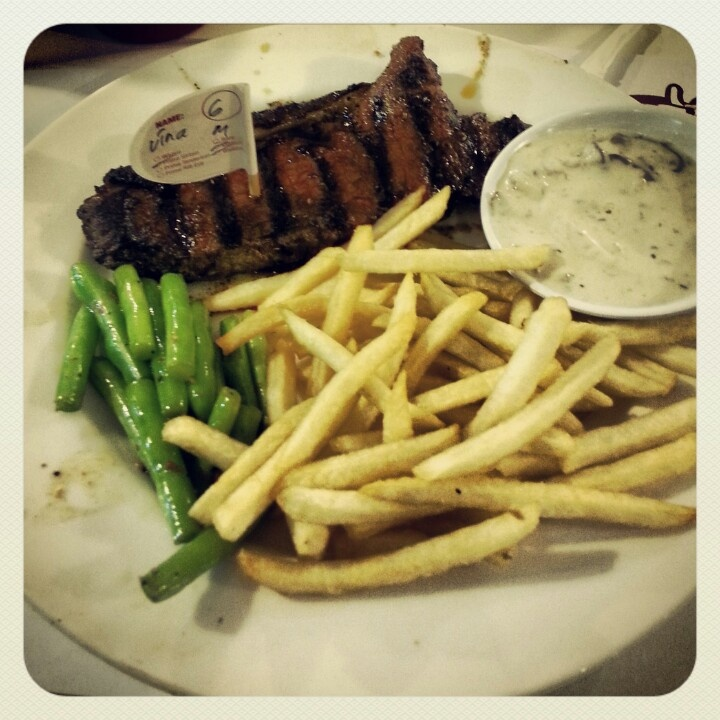 Sirloin steak holycow!
