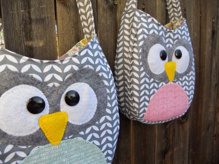 {Little Girl} Owl Crossbody Purse...