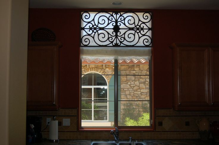 Wrought Iron Cornice : Wrought iron valance for the home pinterest