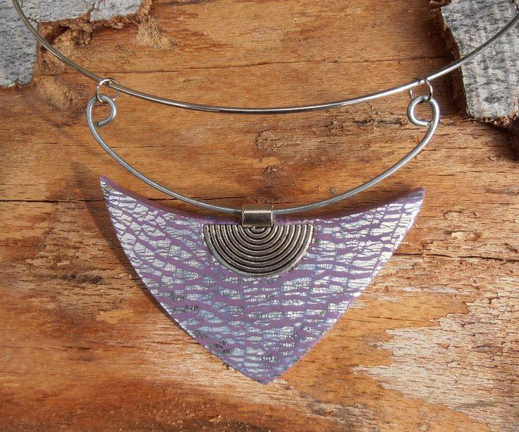 náhrdelník z polymerové hmoty fimo