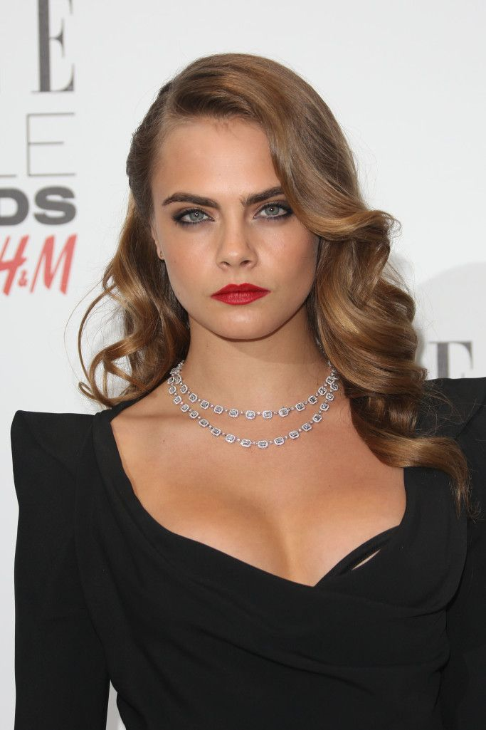 eaf7c137d79 The ELLE Style Awards 2015 held at the Walkie Talkie Building - Arrivals  Featuring  Cara Delevingne Where  London