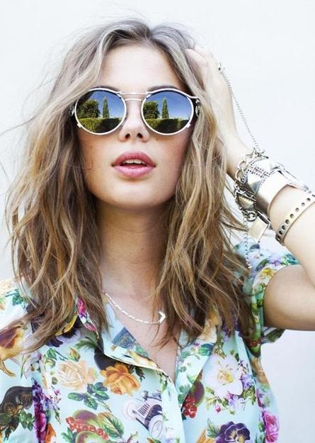 The temps are rising with these sizzlin' beach waves! Get the style here...