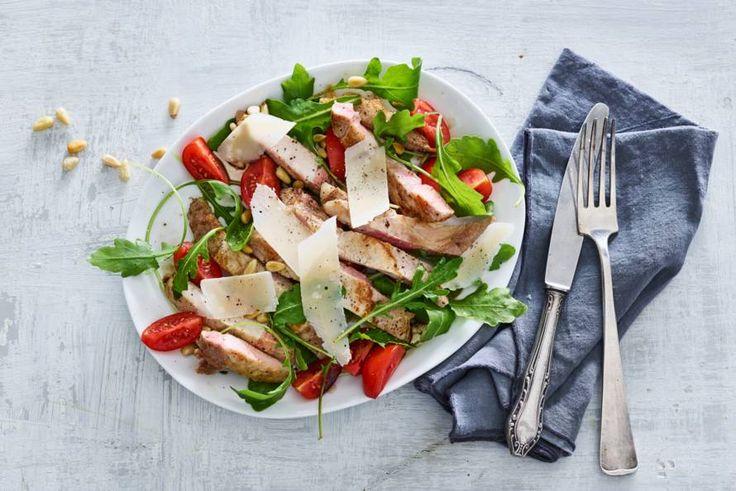 Iberico presca tagliata, met dit stuk vlees waan jij jezelf helemaal in Spaanse sferen. Olé! - Recept - Allerhande