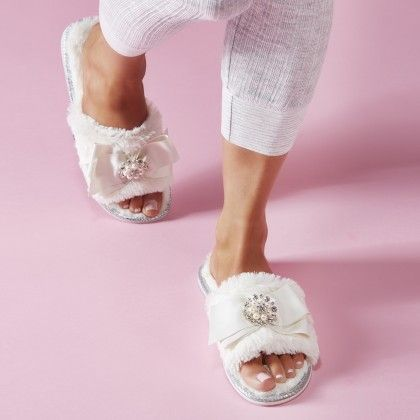 Pretty Slippers   New Ladies Mules Ballerinas and more by Pretty You London