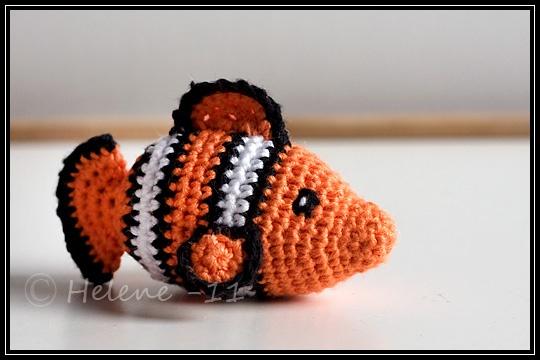 Crochet amigurumi - Nemo